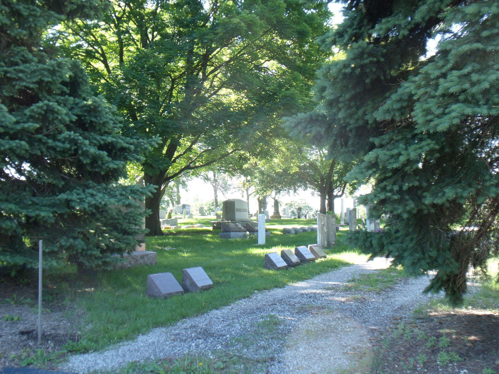 Lyonsville Cemetery Lyonsville Congregational United