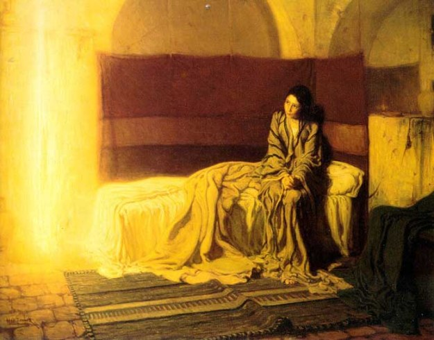 """The Annunciation"" by Henry Ossawa Tanner (1898)"