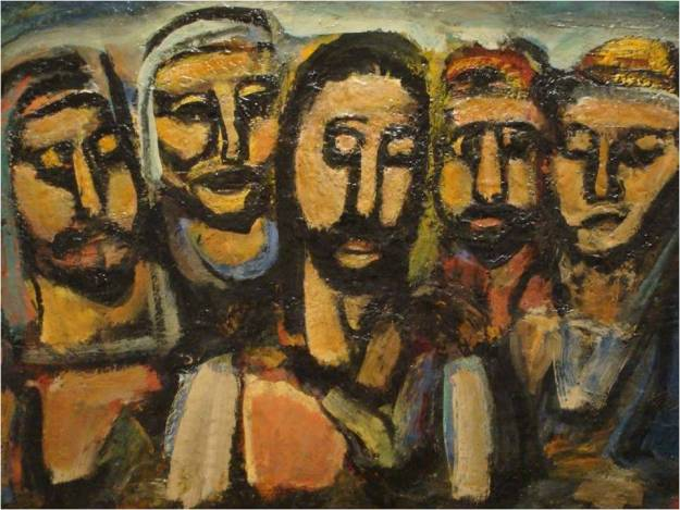 """Christ and the Apostles"" by Georges Rouault"